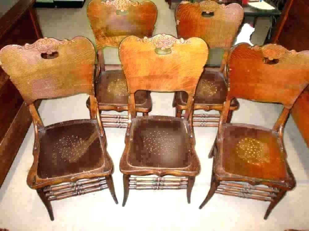 Second Hand Oak Dining Chairs Regarding Latest Used Oak Table And Chairs For Sale – Daytonschoolsng (Gallery 7 of 20)