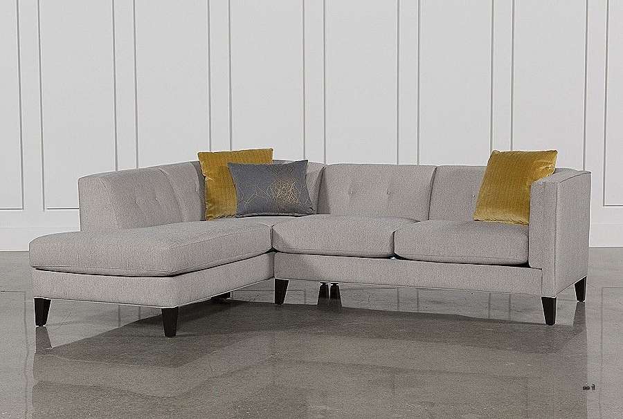 Sectional Sofas: Inspirational 2 Piece Sectional Sofas 2 Pieces A Within Widely Used Aquarius Light Grey 2 Piece Sectionals With Laf Chaise (View 12 of 15)