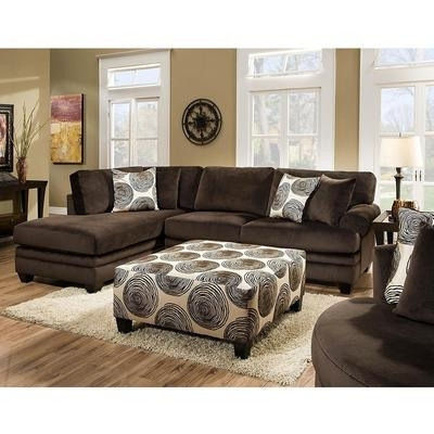 Sectionals At Stanley's Home Furnishings Pertaining To Popular Norfolk Chocolate 6 Piece Sectionals With Raf Chaise (View 11 of 15)