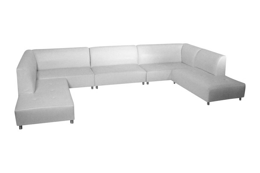Sectionals With Newest Avery 2 Piece Sectionals With Laf Armless Chaise (View 13 of 15)