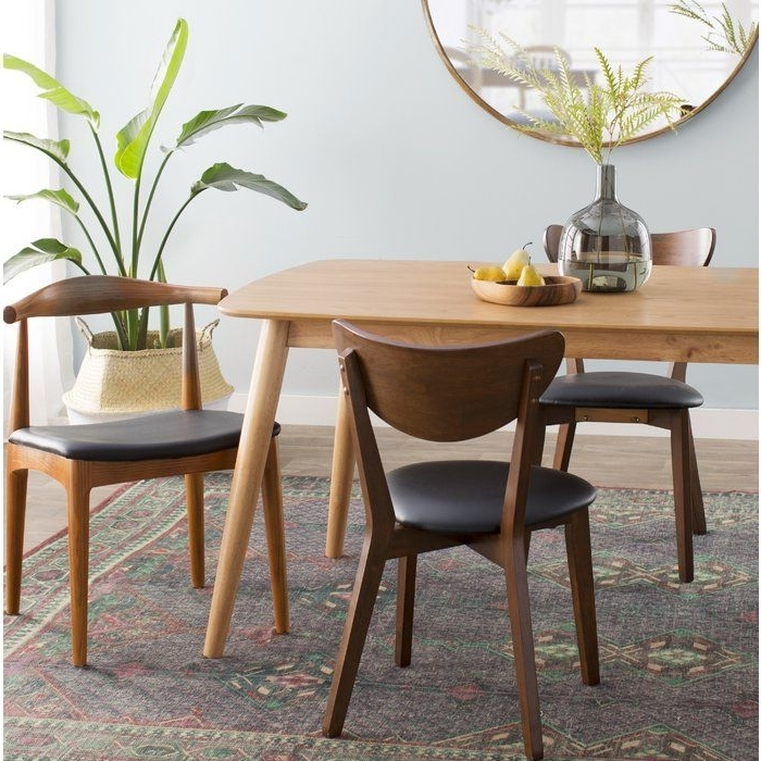 Septimus Side Chair #skandinavischwohnen #skandinavischerlook #skan Pertaining To Best And Newest Chandler 7 Piece Extension Dining Sets With Fabric Side Chairs (View 14 of 20)