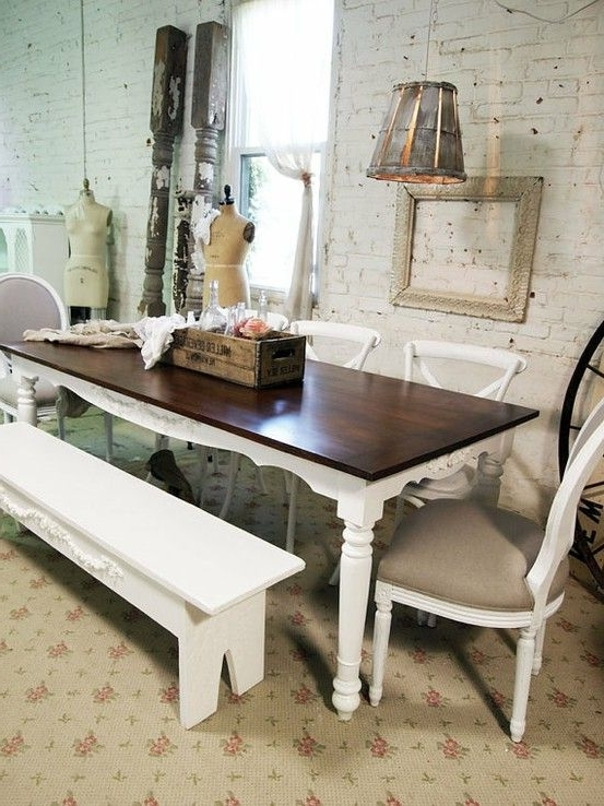 Shabby Chic Dining Sets In Most Recently Released 39 Beautiful Shabby Chic Dining Room Design Ideas (Gallery 7 of 20)