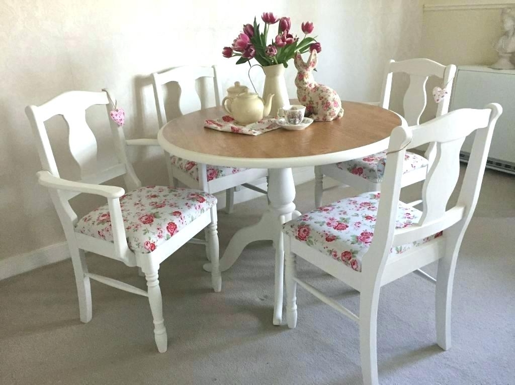 Shabby Chic Dining Sets Inside Favorite Shabby Chic Dining Table – Hifanclub (View 12 of 20)