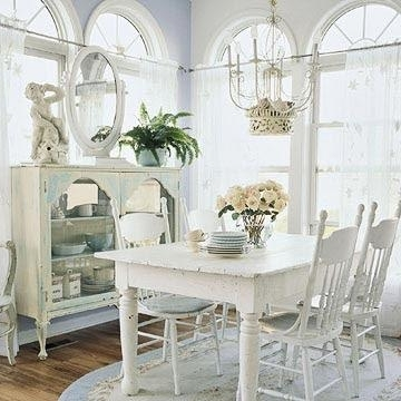 Shabby Chic Dining Sets With Fashionable Shabby Chic Dining Tables And Chairs For Your Home – Infobarrel (Gallery 15 of 20)