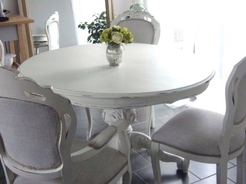 Shabby Chic Dining Sets With Popular Shabby Chic Dining Table And Chairs Shabby Chic Dining Room Chair (Gallery 10 of 20)