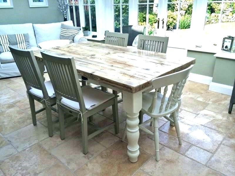 Shabby Dining Tables And Chairs In Most Up To Date Rustic Shabby Chic Dining Room Chic Dining Room Chairs Rustic Shabby (View 9 of 20)