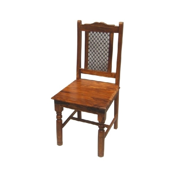 Sheesham Wood Dining Chairs With Regard To Well Known Sheesham Dining Chair/ Bournemouth/poole (Gallery 5 of 20)