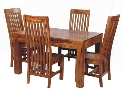 Sheesham Wood Dining Set, 6 Seater Dining Set, Wooden Dining Set Pertaining To 2018 Sheesham Wood Dining Tables (View 18 of 20)