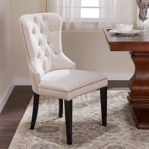 Shop Abbyson Versailles Tufted Velvet Dining Chair – On Sale – Free Pertaining To Famous Velvet Dining Chairs (View 11 of 20)