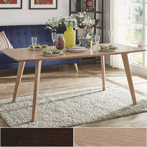 Shop Abelone Scandinavian Dining Tableinspire Q Modern – On Sale Pertaining To Trendy Danish Style Dining Tables (View 16 of 20)