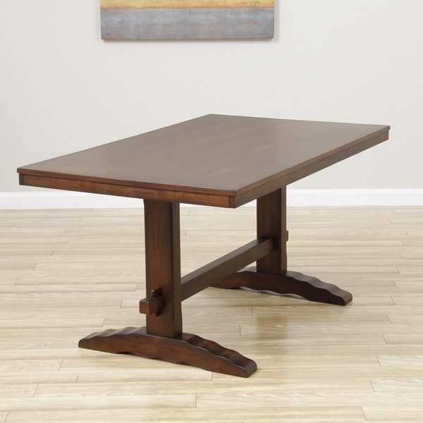 Shop Cooper Dining Table In Deep Chocolate – Free Shipping Today Within Preferred Cooper Dining Tables (View 17 of 20)