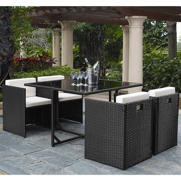 Shop Marbella 5 Piece Outdoor Dining Set – Free Shipping Today Intended For 2018 Marbella Dining Tables (View 17 of 20)