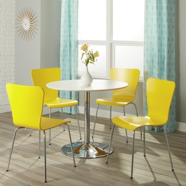 Shop Simple Living Pisa Modern 5 Piece Dining Set – Free Shipping Pertaining To Current Pisa Dining Tables (View 18 of 20)