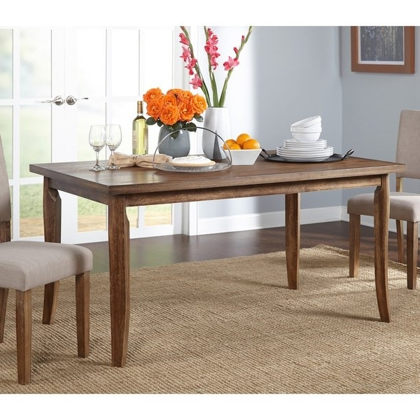 Shop Simple Living Provence Dining Table – Brown – Free Shipping Throughout Trendy Provence Dining Tables (View 17 of 20)