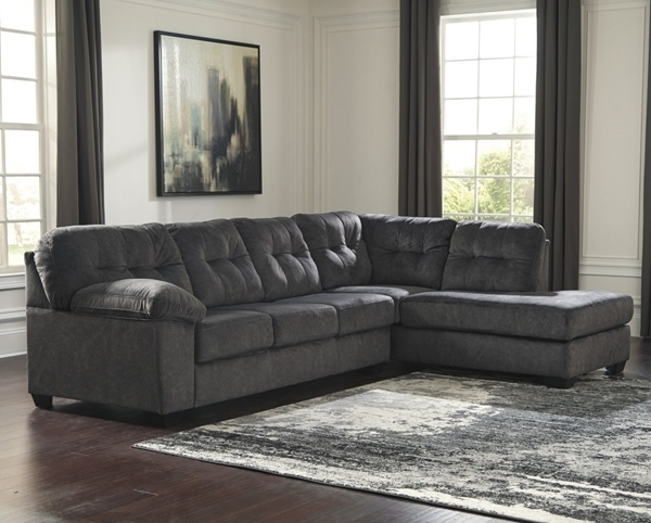 Sierra Foam Ii 3 Piece Sectionals For Latest Accrington Granite 2 Piece Left Arm Facing Sectional – Sectionals (View 10 of 15)