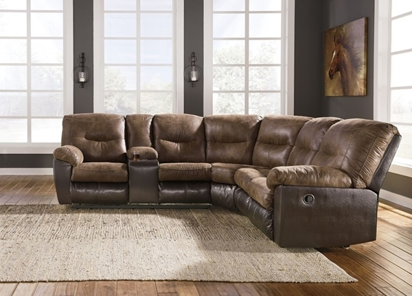 Sierra Foam Ii 3 Piece Sectionals Pertaining To Newest Leonberg Coffee 2 Piece Reclining Sectional – Sectionals (View 12 of 15)