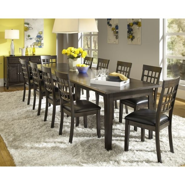 Simply Solid Corina Solid Wood 11 Piece Dining Collection (View 14 of 20)