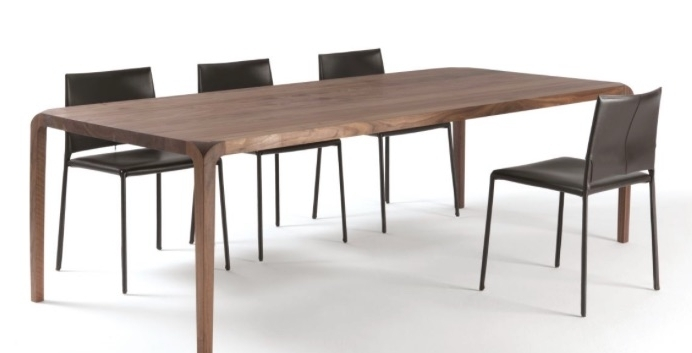 Sleek Dining Tables For Most Recent Dining Tables: Sleek Table (View 2 of 20)