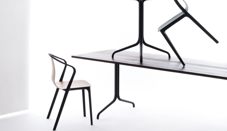 Sleek Dining Tables With Most Recently Released 8 Sleek Dining Tables And Chairs – Azure Magazine (View 3 of 20)