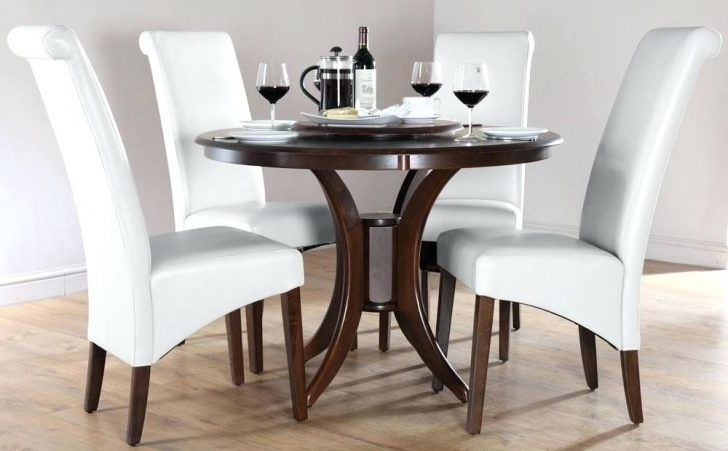 Small Dining Table Set For 4 Room Sets And Chairs Chair Long 6 Smal Regarding Best And Newest Small Round Dining Table With 4 Chairs (View 12 of 20)