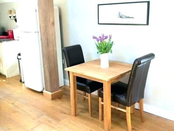 Small Dining Tables For 2 With Regard To Trendy Two Seater Dining Tables Incredible 2 Dining Table Set Kitchen Table (View 16 of 20)