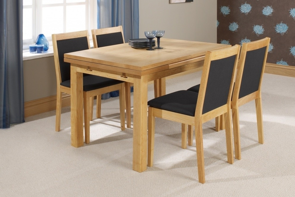 Small Extendable Dining Table Sets Intended For Preferred Imágenes De Extendable Dining Table And Chairs Argos (View 14 of 20)