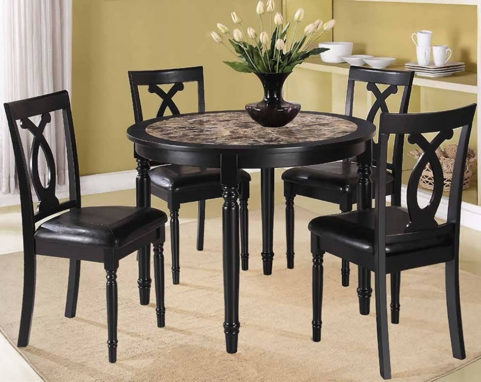 Small Kitchen Dining Table Sets — Batchelor Resort Home Ideas : 4 Inside Most Popular Cheap Dining Tables Sets (View 13 of 20)