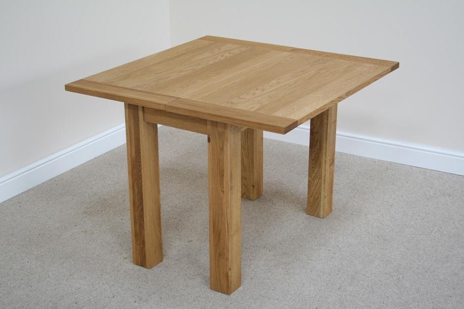 Small Oak Dining Tables Pertaining To Widely Used Flip Top Oak Dining Tables (View 3 of 20)