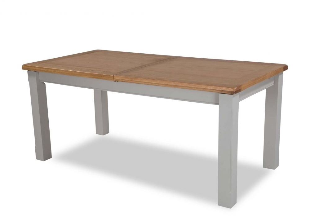 Small Oak Dining Tables With Famous Small Oak Extendable Dining Table – Hudson – Ez Living Furniture (View 15 of 20)