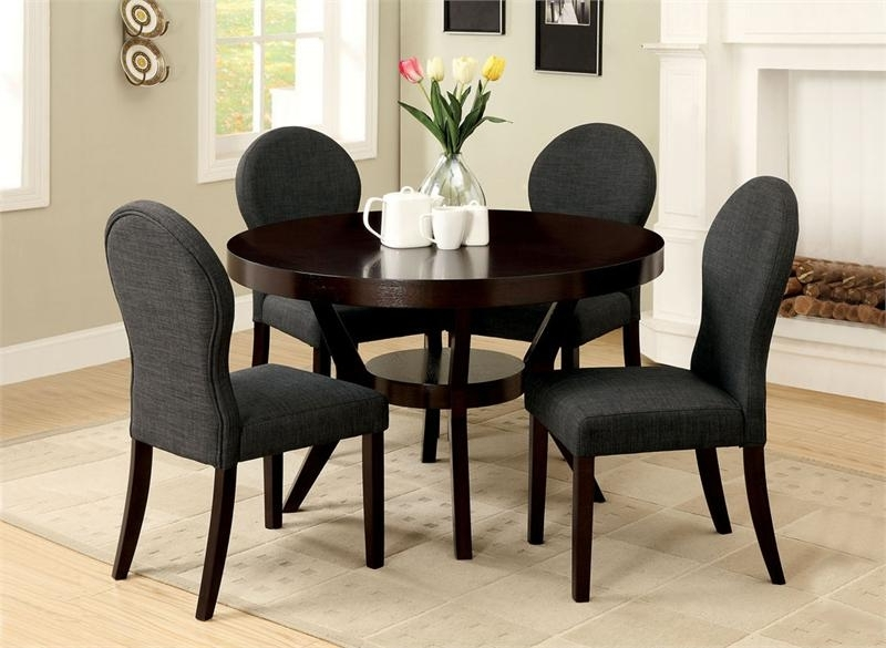 Small Round Dining Table Set – Castrophotos Regarding Well Known Black Circular Dining Tables (View 17 of 20)