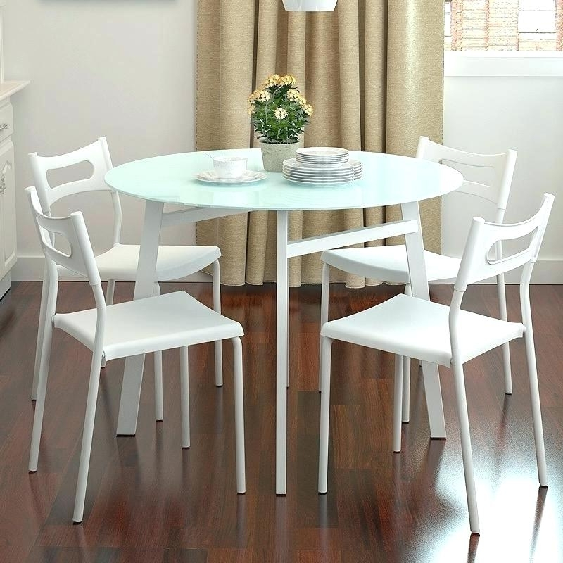 Small Round Dining Table With 4 Chairs With Recent Small Round Dining Room Table – Dailygossip (View 16 of 20)