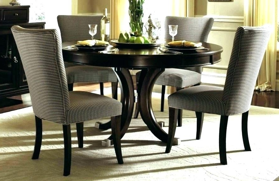 Small Round Glass Dining Table 2 Chairs Kitchen With And Furniture Regarding Fashionable Cheap Round Dining Tables (View 15 of 20)