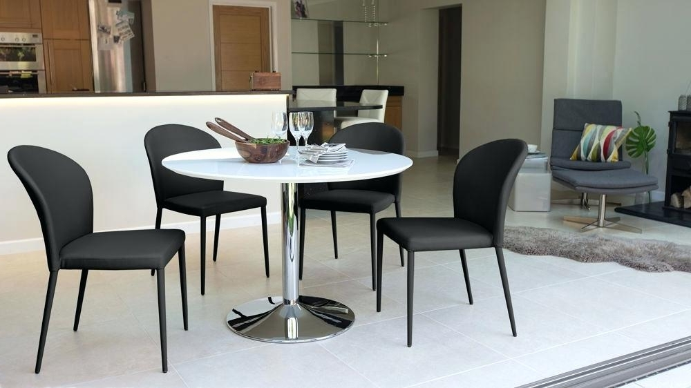 Small Round White Dining Tables Within Most Up To Date Small Round White Dining Table – Npedal (View 18 of 20)