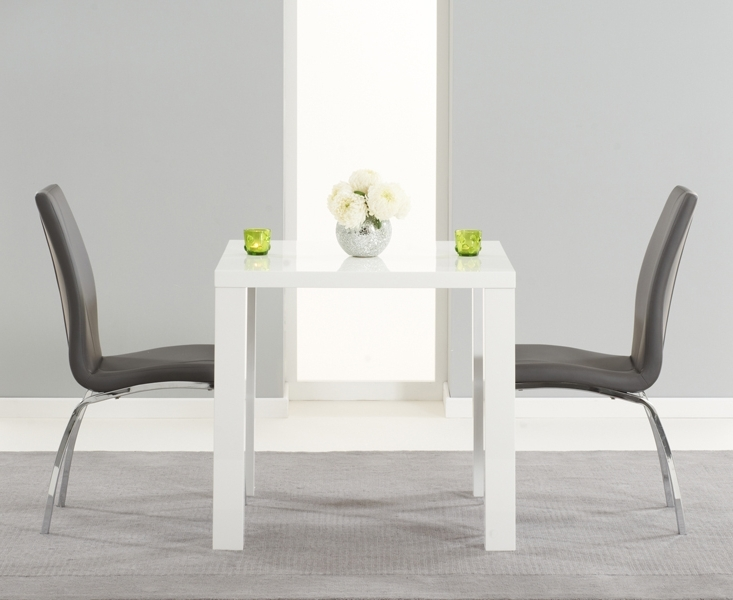 Small White Extending Dining Tables With Well Known Use White Dining Room Table And Chairs For Your Small Family Size (View 17 of 20)