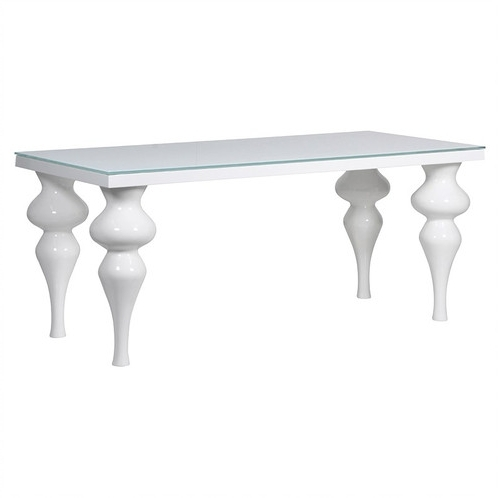 Small White Hi Gloss Dining Table In Recent Hi Gloss Dining Tables (Gallery 16 of 20)
