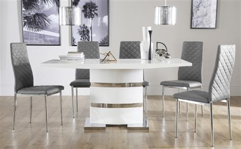 Smartie Dining Tables And Chairs With Regard To Most Popular White Dining Table And Chairs (Gallery 19 of 20)