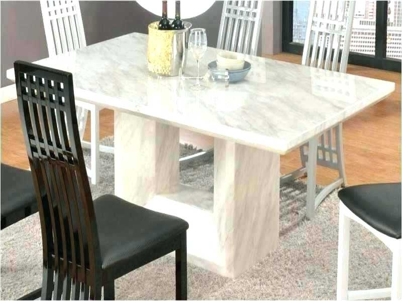 Solid Marble Dining Table Dining Room Table Top Ideas Solid Marble With Well Known Solid Marble Dining Tables (View 10 of 20)