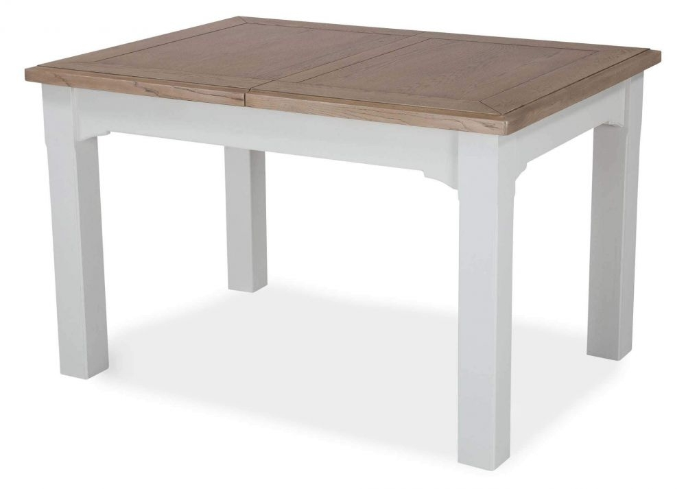 Solid Oak Dining Tables For Most Popular Country Style Extendable Solid Oak Dining Table – Georgia – Ez (View 14 of 20)
