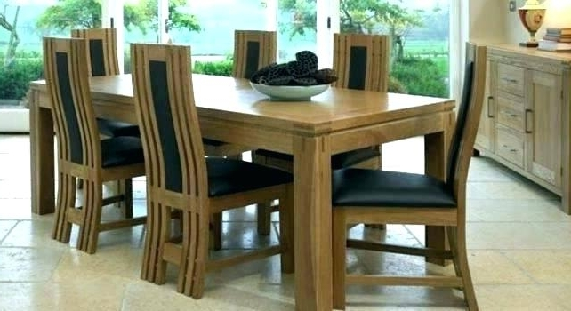 Solid Wood Dining Chairs Canada Table And Ebay Sets Uk Oak Room With Most Recent Ebay Dining Chairs (View 17 of 20)