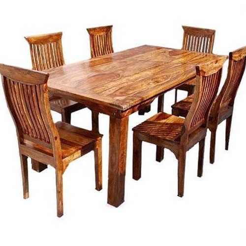 Solid Wood Dining Tables With Most Recent Solid Wood Dining Table, Wooden Dining Room Set, Wooden Dining Set (View 20 of 20)