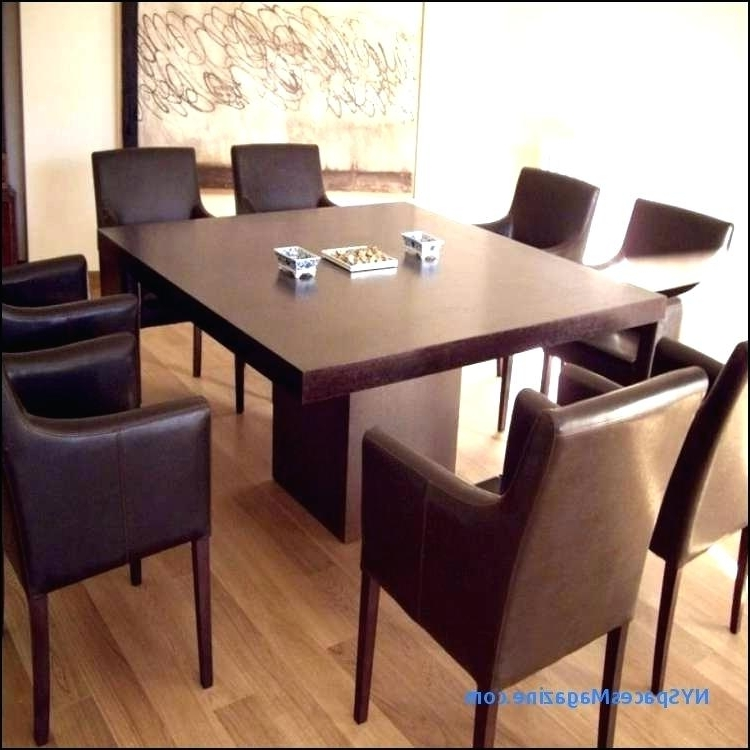 Square Dining Tables For 8 Persons Oak Dining Table 8 Chairs Luxury Intended For Current Oak Dining Tables And 8 Chairs (View 16 of 20)