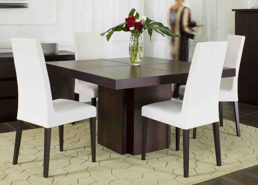 Square Dining Tables Intended For Best And Newest Madeira Square Dining Table (View 14 of 20)