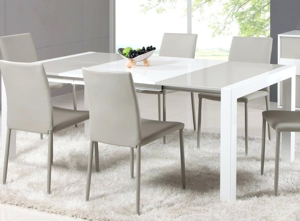 Square Extendable Dining Table Contemporary Dining Room Concept Inside Favorite Extendable Square Dining Tables (View 15 of 20)