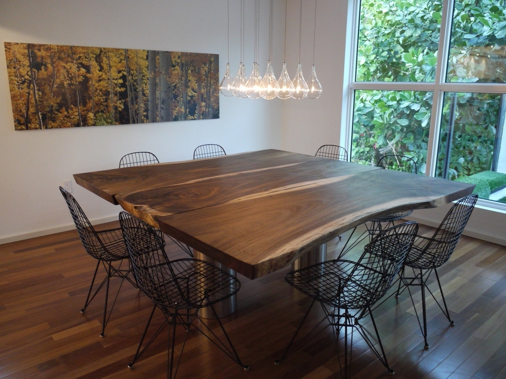 Square Extendable Dining Tables And Chairs Pertaining To Current Square Extendable Dining Table Dining Room Contemporary (View 9 of 20)