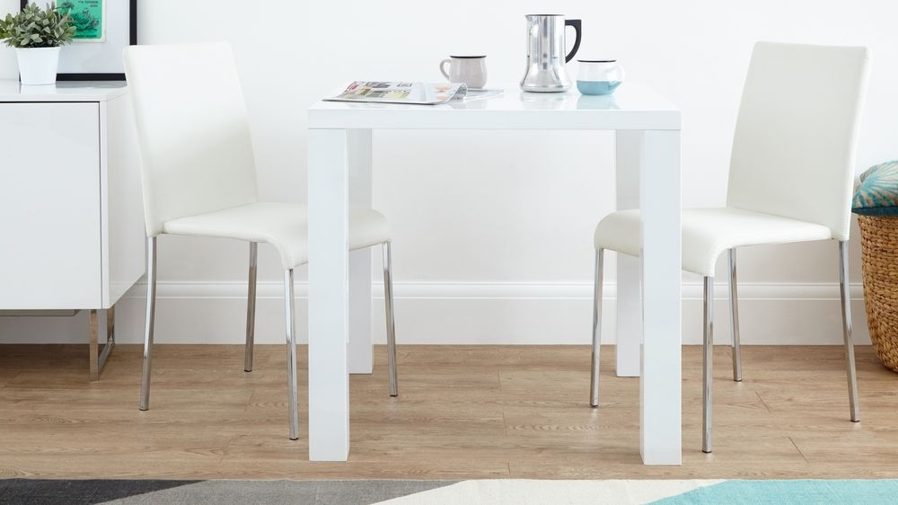 Square Table Stackable Chairs (Gallery 2 of 20)