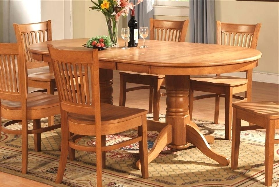 Startling Oval Oak Dining Table Chairs Creative Of Oak Dining Room Within Widely Used Oak Dining Tables Sets (View 19 of 20)