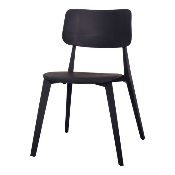 Featured Photo of Black Dining Chairs