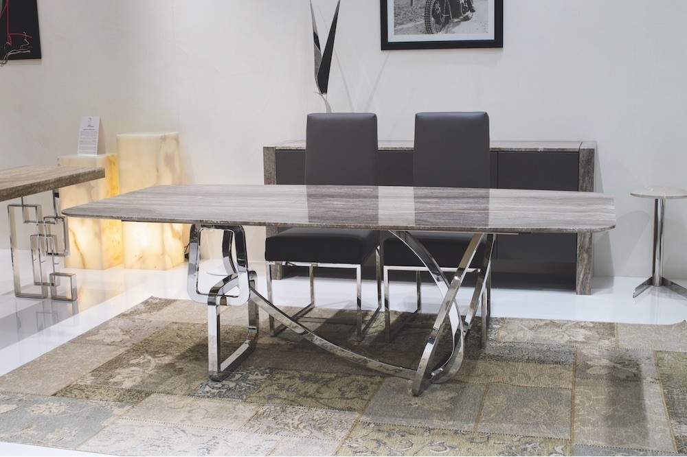 Stone Dining Tables In Trendy Stone International Tangle Dining Table (View 10 of 20)
