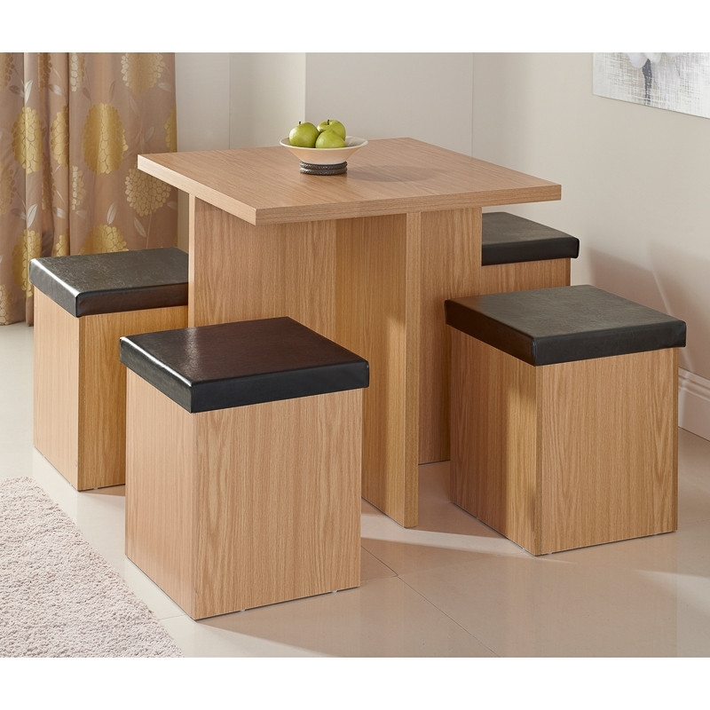 Stowaway Dining Tables And Chairs For Well Known Stockholm Stowaway Dining Set 5Pc (View 13 of 20)