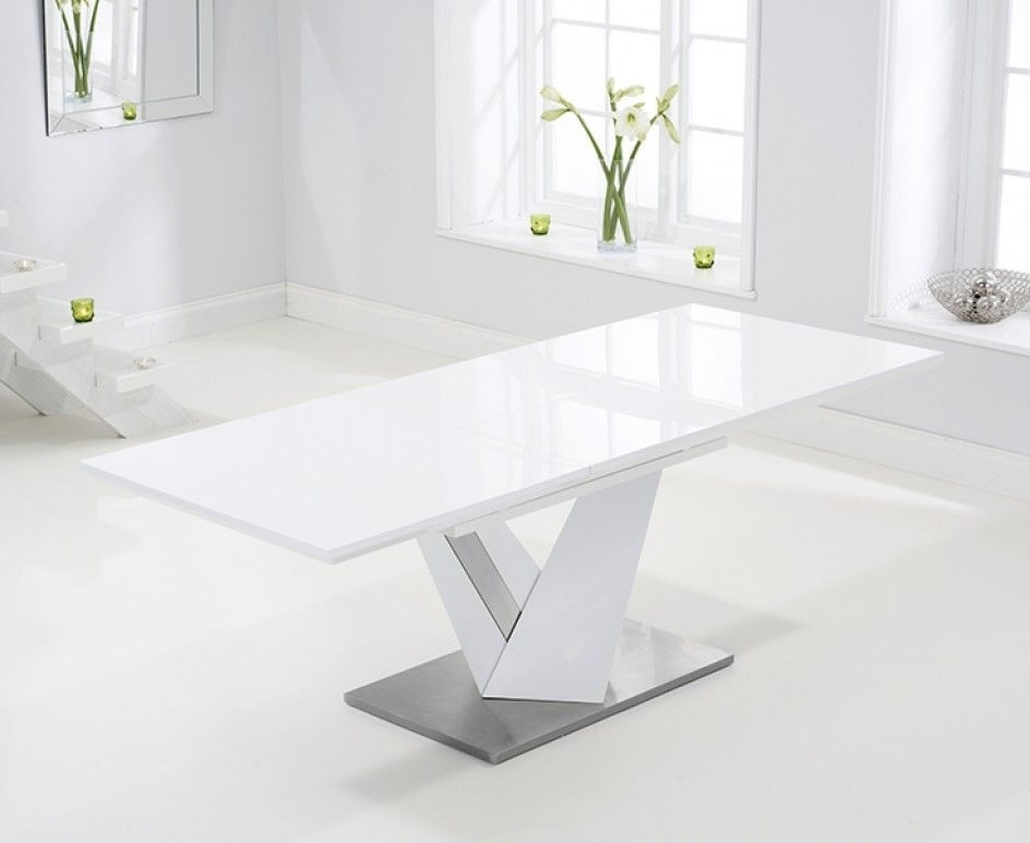 Stuff To Buy With Extending White Gloss Dining Tables (View 16 of 20)